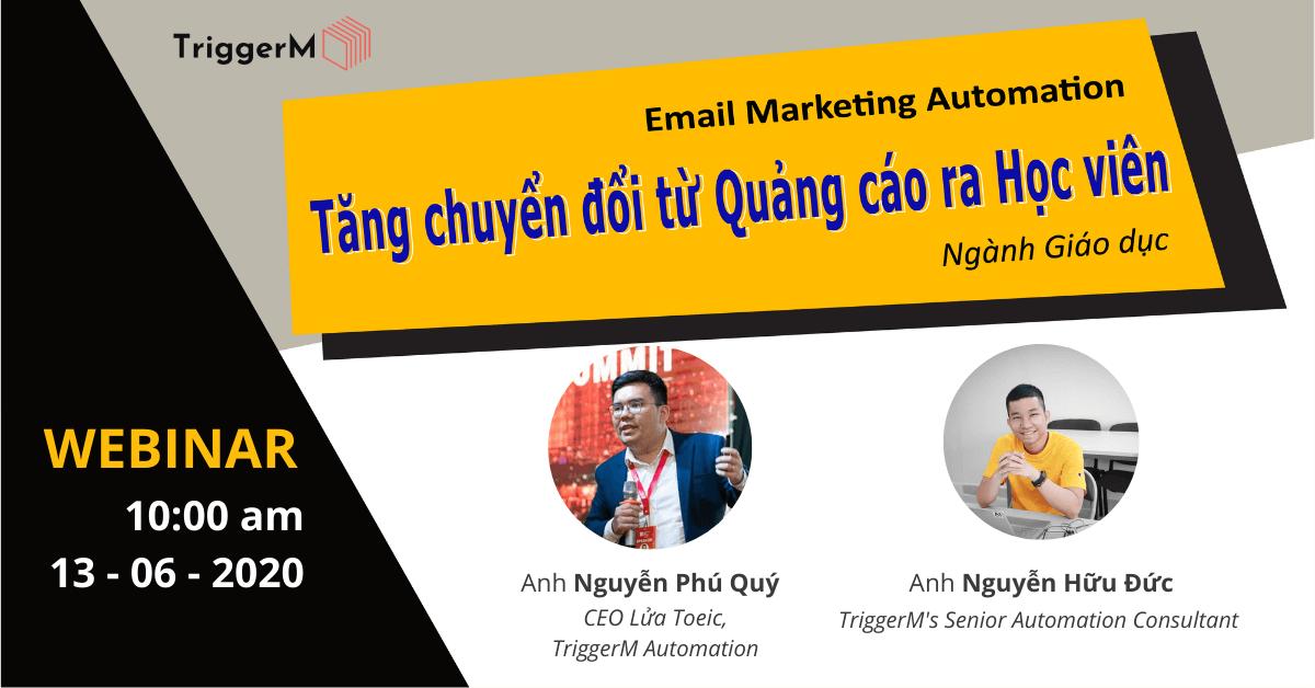 Email Marketing Automation ngành giáo dục