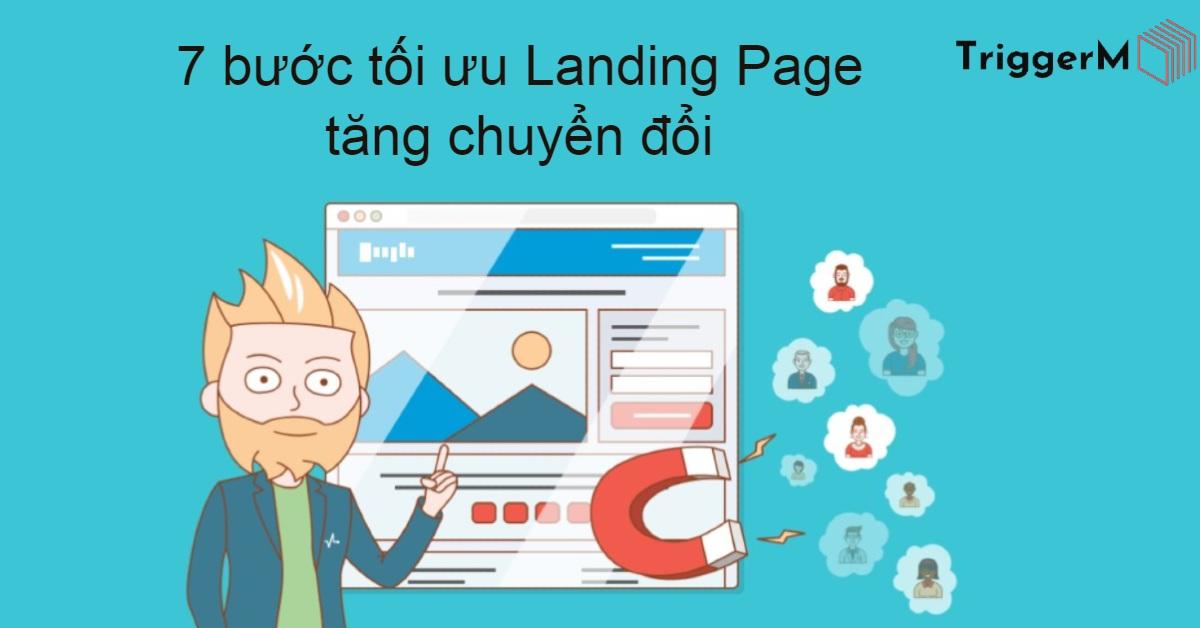 7 bước tối ưu landing page tăng chuyển đổi