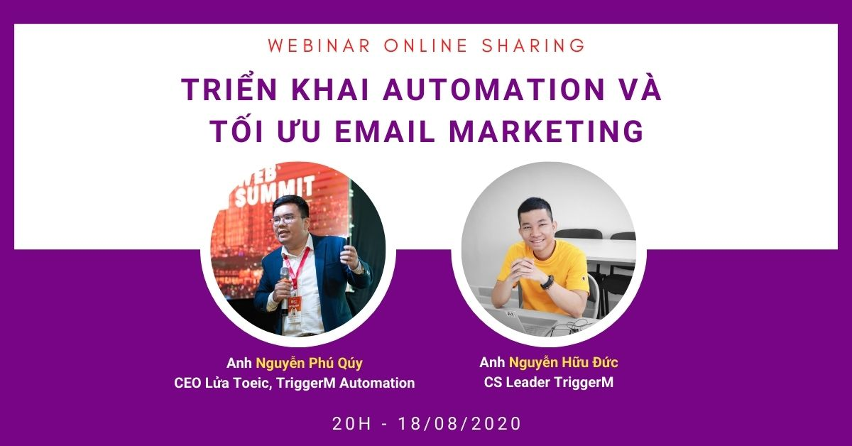 webinar triển khai automation marketing