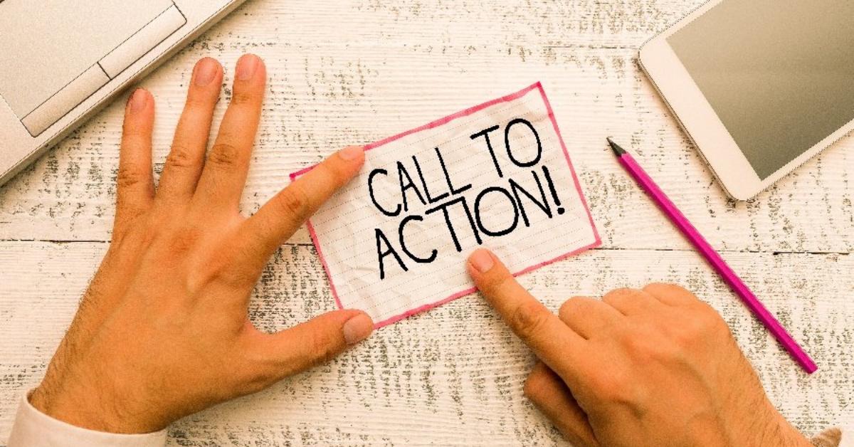"""3 Ví dụ về """"Call to action"""" để cải thiện tỷ lệ chuyển đổi"""