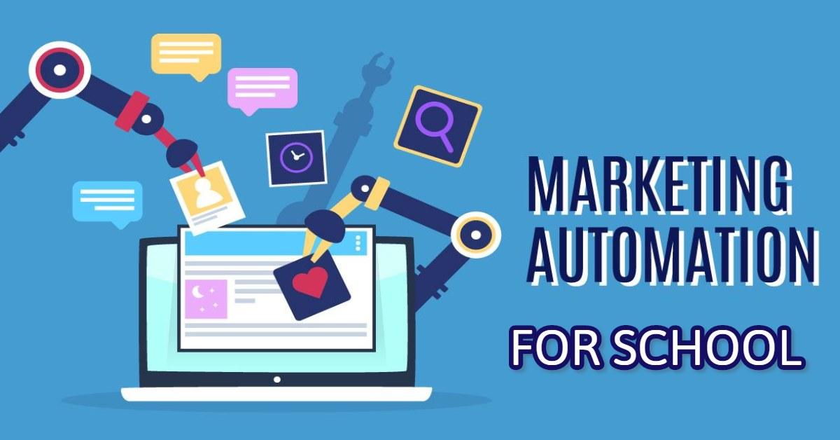 marketing automation cho trường học