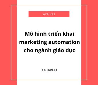 marketing automation for edu